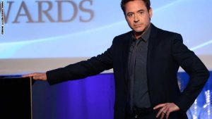 BEVERLY HILLS, CA - OCTOBER 21:  Actor Robert Downey Jr. speaks onstage during the 17th annual Hollywood Film Awards at The Beverly Hilton Hotel on October 21, 2013 in Beverly Hills, California.  (Photo by Mark Davis/Getty Images)