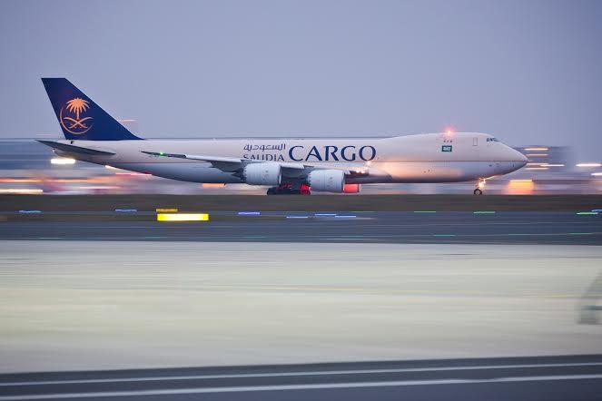 Germany, Frankfurt Airport, Saudia Cargo, Boeing 747 activities, 01 Dec 2014.    (c) Christoph Papsch/fotogoria
